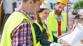 Construction, Engineer, People, Wokers